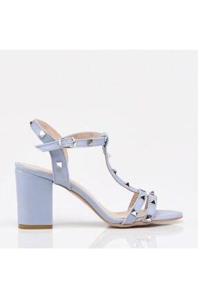 Hotiç Açık Mavi Yaya Kadın Sandalet & Terlik