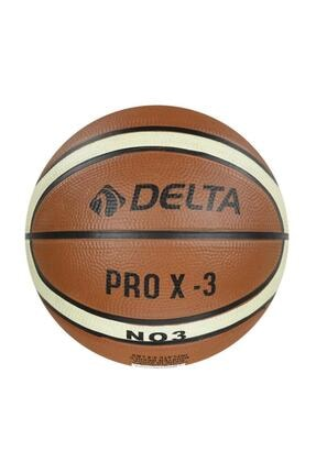 Delta Pro X Deluxe Kauçuk 3 Numara Çocuk Basketbol Topu