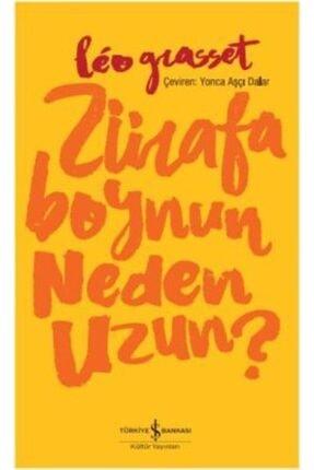 İş Bankası Kültür Yayınları Zürafa Boynun Neden Uzun?