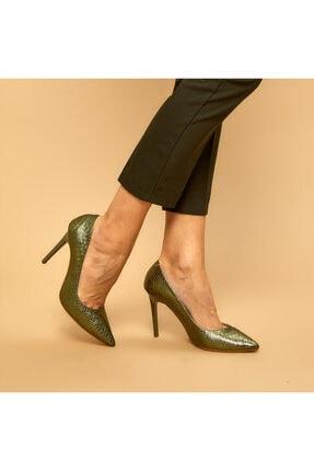 Butigo 19k-969 Yeşil Kadın Stiletto