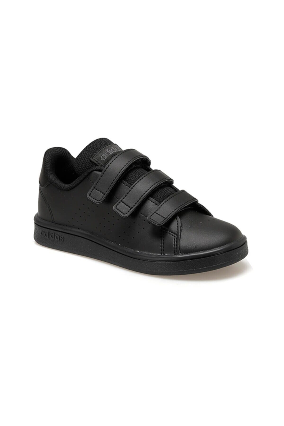 adidas ADVANTAGE Siyah Unisex Çocuk Sneaker Ayakkabı 100481990 1