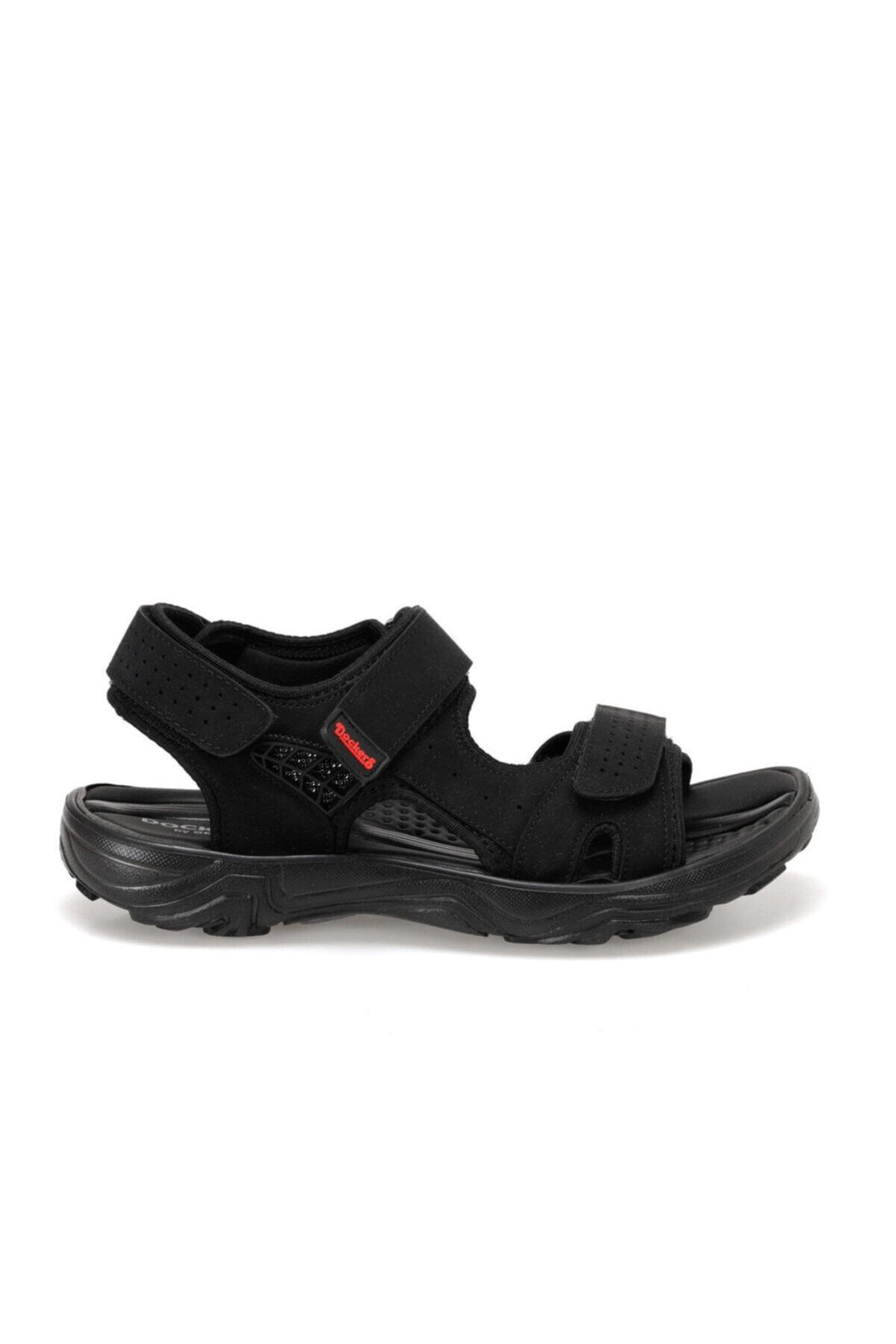 Dockers By Gerli Dockers 100497778 228653 Siyah-kırmızı Erkek Sandalet 2