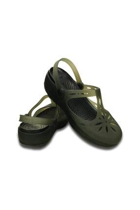 Crocs CARLIE CUTOUT CLOG Siyah Kadın Sandalet 100529125