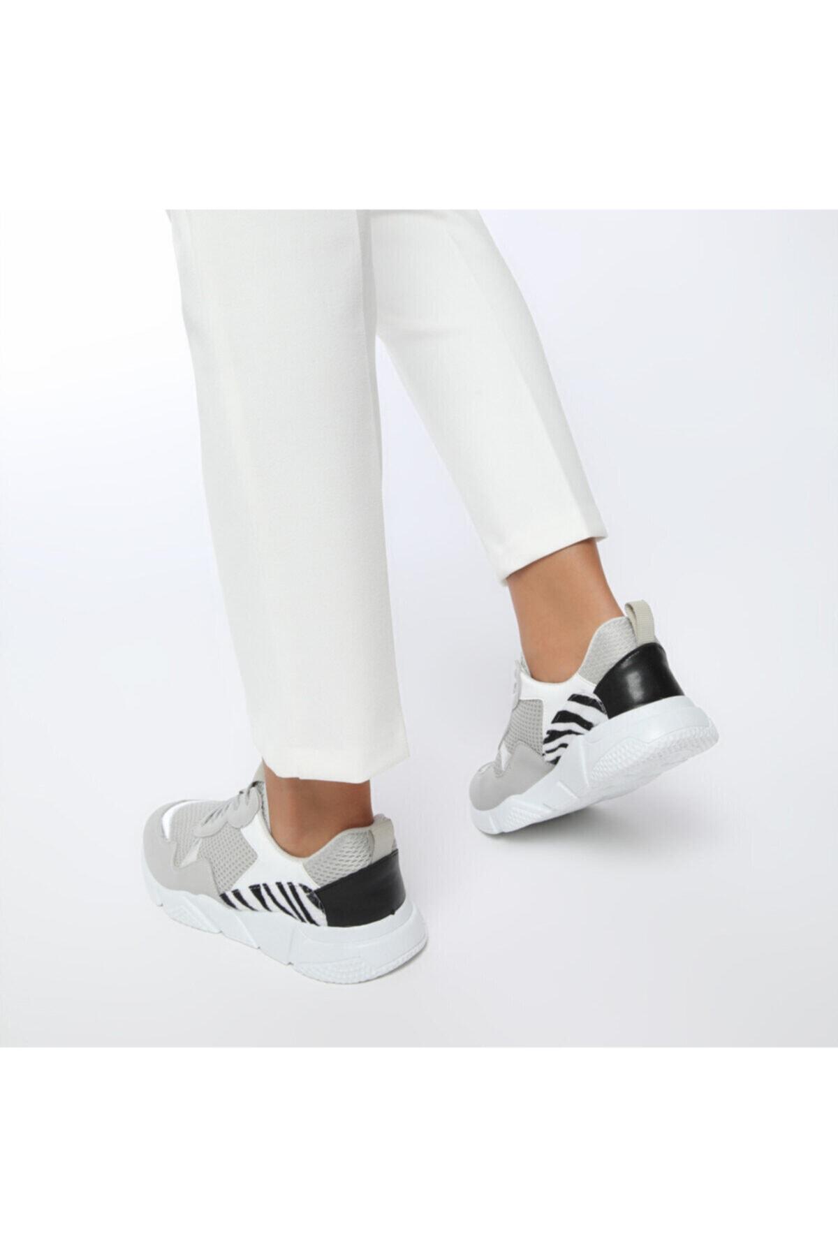 Butigo 20SF-2001 Gri Kadın Sneaker Ayakkabı 100530776 2