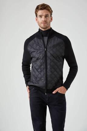 Hemington Merino Yün Siyah Activewear Triko Mont
