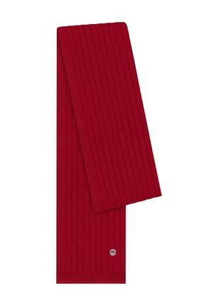 Hemington Erkek Kırmızı Yün Atkı