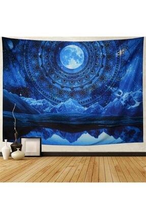 Trendiz Hippi Galaxy Uzay Duvar Halısı