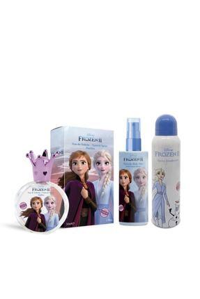 Disney Frozen 250 ml Parfüm Edt + 150 ml Body Mist + Deodorant Çocuk Parfüm