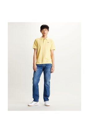 Levi's Erkek Sarı Polo Yaka Tişört Original Batwing 85633-0015