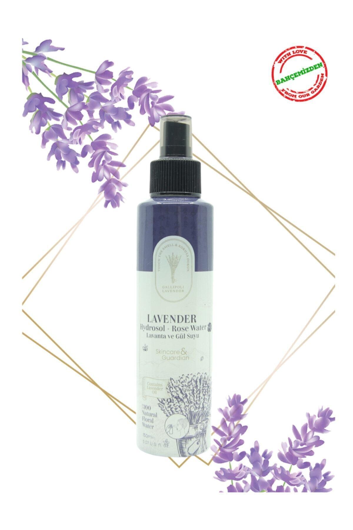 Gallipoli Lavender Lavanta Ve Gül Suyu (hidrosol) 150 Ml Yağlı Akneli Ciltler Için Tonik Etkili Gül Suyu & Lavanta Suyu 1