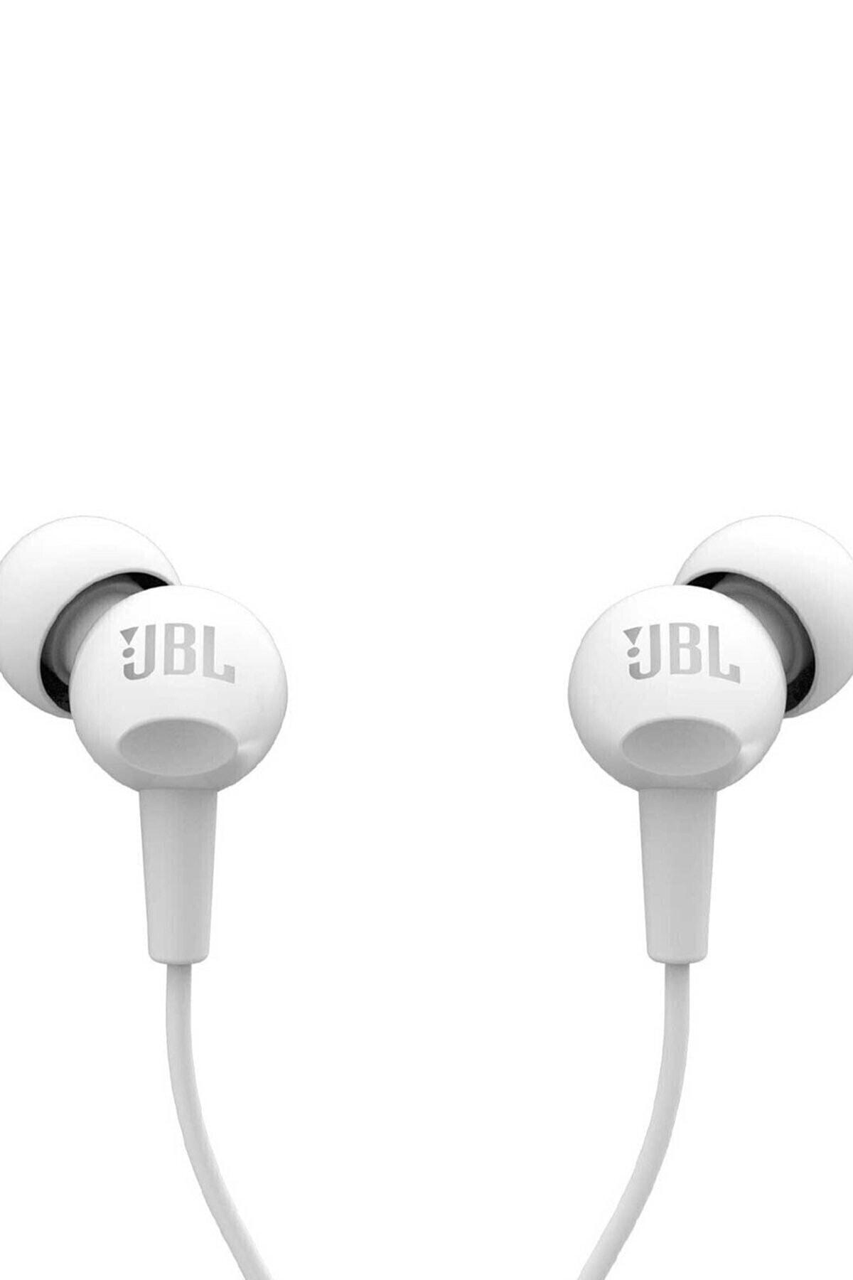 JBL C100SIU Kulak İçi Kulaklık - Beyaz 1