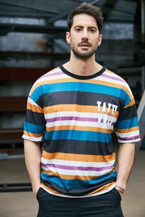 Sateen Men Erkek Renkli Dijital Baskılı T-Shirt
