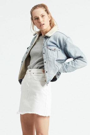 Levi's Kadın Mavi Jean Ceket