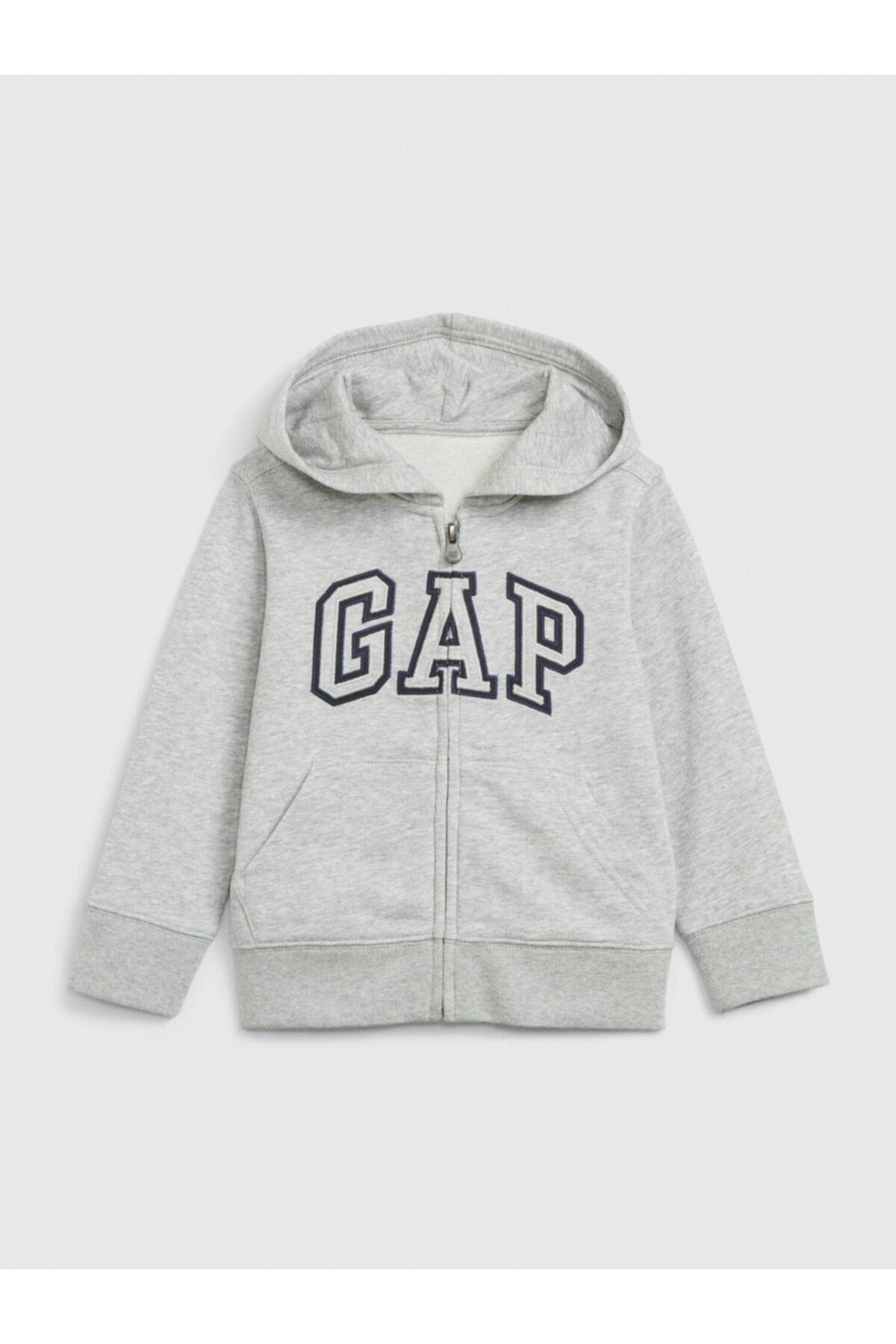 GAP Logo Kapüşonlu Sweatshirt 1