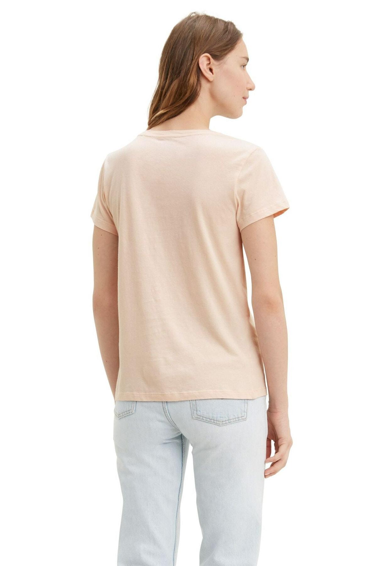 Levi's Kadın Pembe The Perfect T-shirt 17369-0832 2