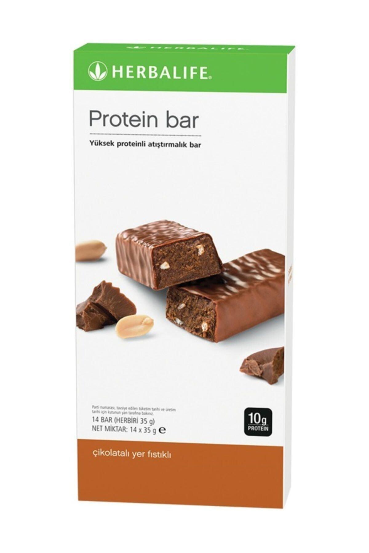 Herbalife Protein Bar Çikolatalı Yer Fıstıklı Çikolatalı Yer Fıstıklı 14'lü Paket 1