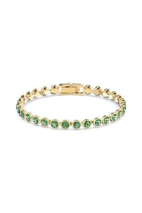 Swarovski 5555824 Bilezik Tennıs-bracelet Enıt-gos M