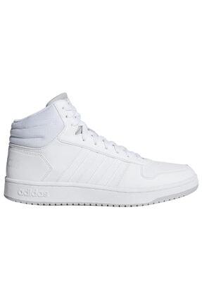 adidas HOOPS 2.0 MID Beyaz Erkek Basketbol Ayakkabısı 100479832