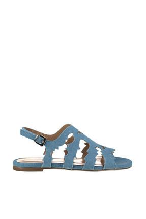 Derimod Denim Mavi Kadın Sandalet