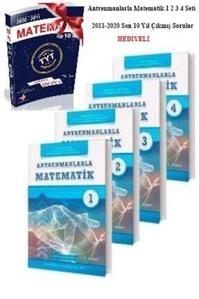 Antrenman Yayınları Antrenmanlarla Matematik 1 2 3 4 Seti Matematik Son 10 Yıl Çıkmış Sorular Hediyeli