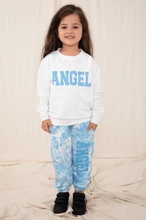 Kiwikido Kız Çocuk Angel Baskılı Eşofman Takımı - 1498