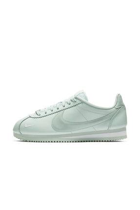 Nike Kadın Turkuaz Classıc Cortez Prem Sneaker