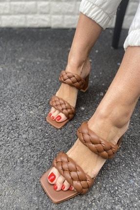 İnan Ayakkabı KADIN TABA TOPUKLU AYAKKABI 21İ295MHM