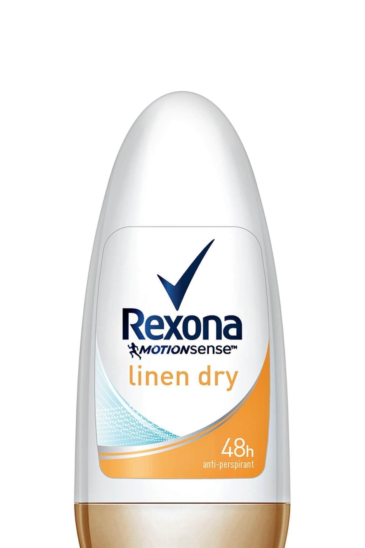 Rexona Kadın Linen Dry Deodorant Rolon 50 ml 1