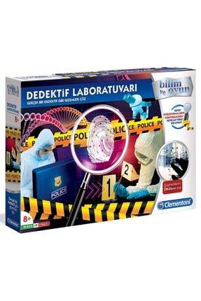 CLEMENTONI 64444 Dedektif Laboratuvarı /bilimveoyun +8 Yaş