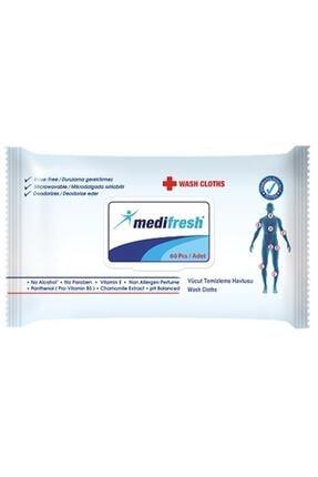 Medifresh Hasta Sil 60'lı Vücut Temizleme Bezi