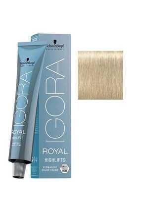 Igora Royal Highlifts Permanet Color Creme - Saç Boyası No: 10-1 Ultra Sarı Sandre 60ml