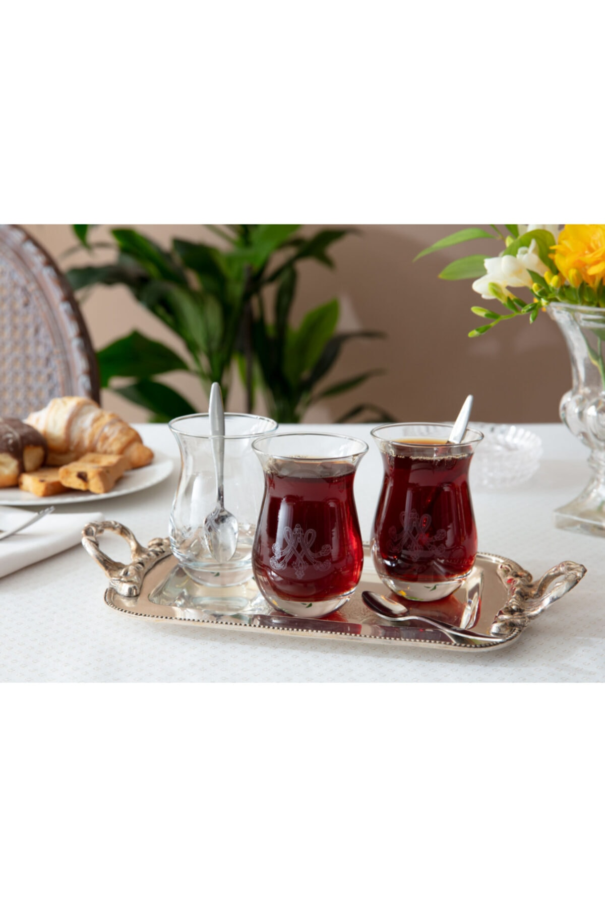 Madame Coco Antoinette 6'lı Çay Bardağı 168 ml 1