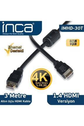 Inca Imhd-30t 3mt Hdmı-m-hdmı-m Kablo