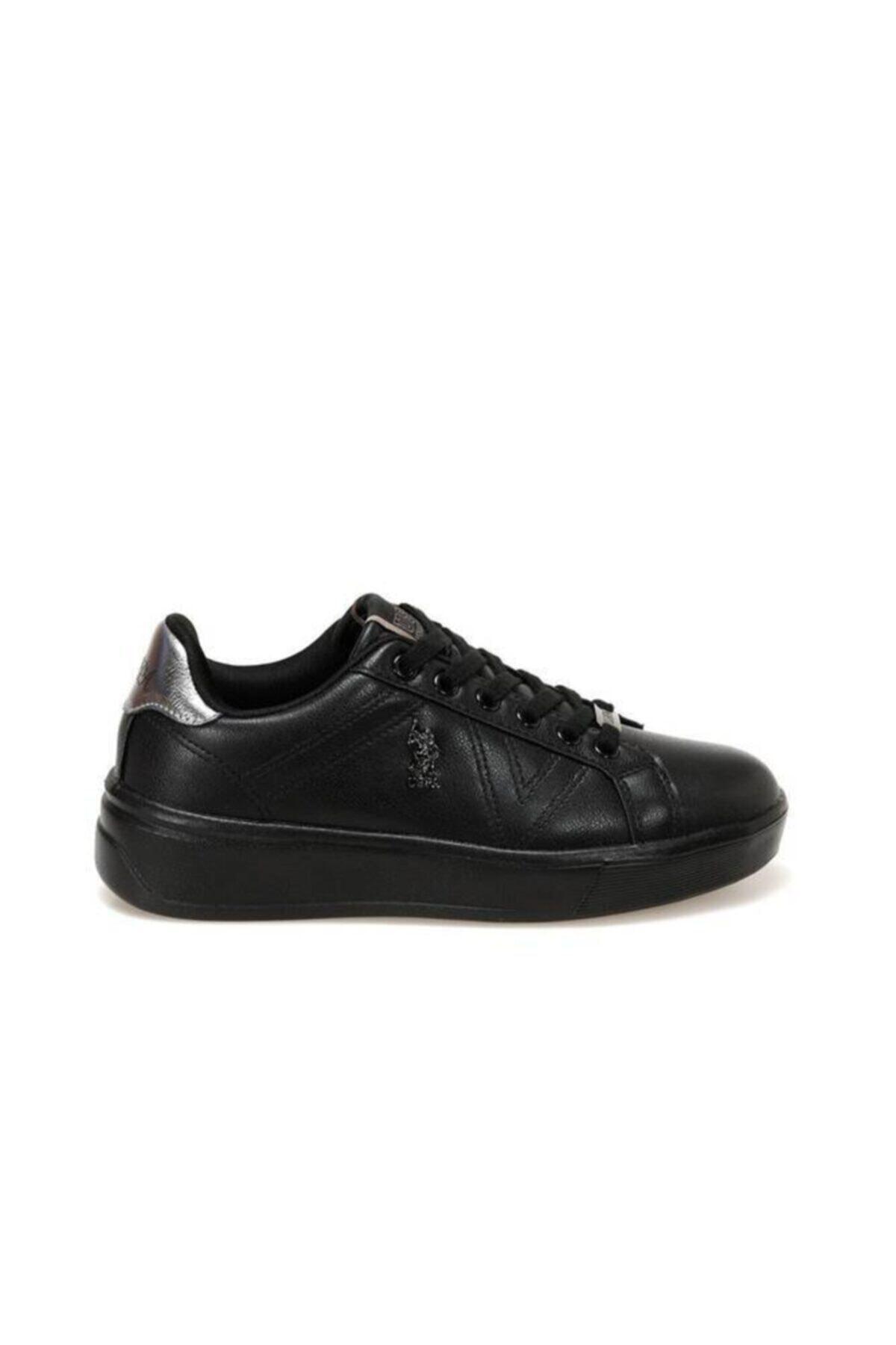 U.S. Polo Assn. Kadın Siyah Ayakkabı 2