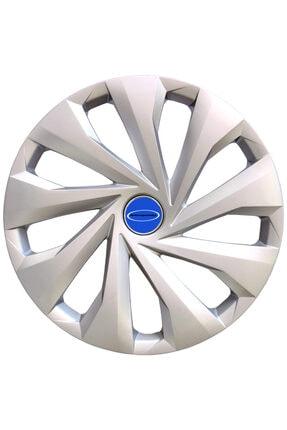 TANACTİCARET Ford Fiesta 15'' Inç Uyumlu Jant Kapağı 4 Adet 1 Takım 2002