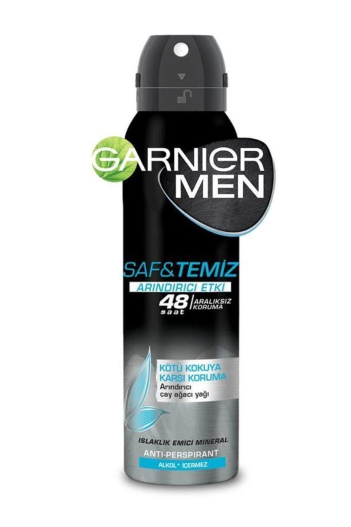 Garnier Men Saf Ve Temiz 48 Saat Deodorant 150 Ml 1