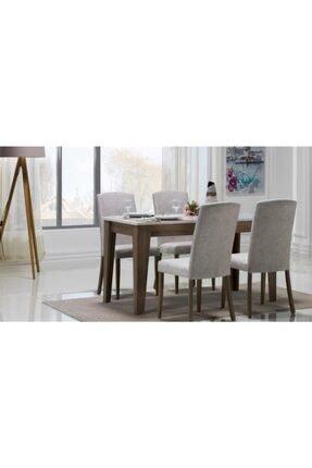 Bellona Violet Masa 4 Sandalye Takımı