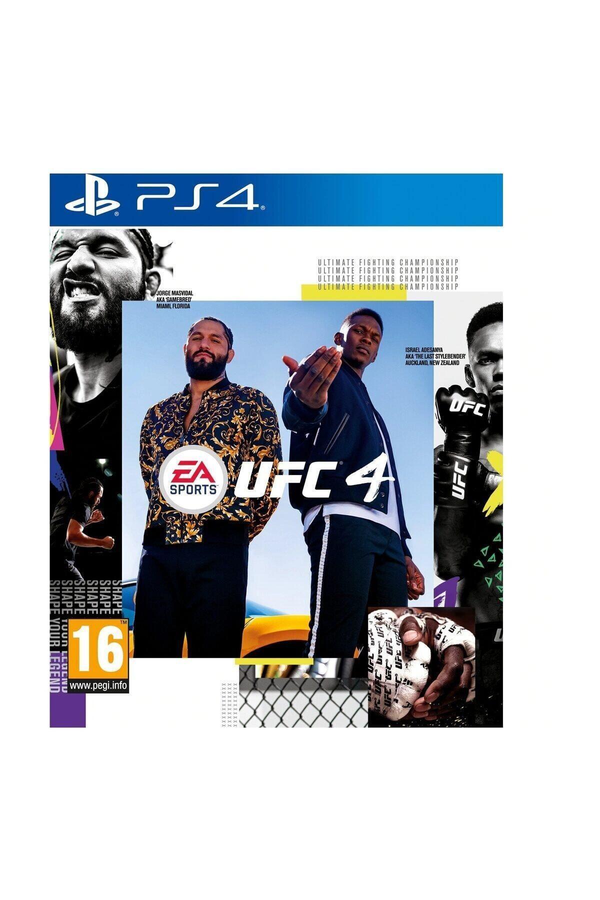 EA UFC 4 PS4 Oyun 1