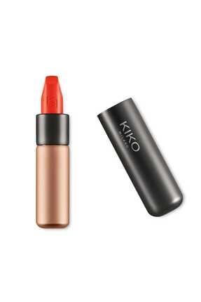 KIKO Saten Mat Ruj - Velvet Passion Matte Lipstick 309 Tulip Red 8025272630221