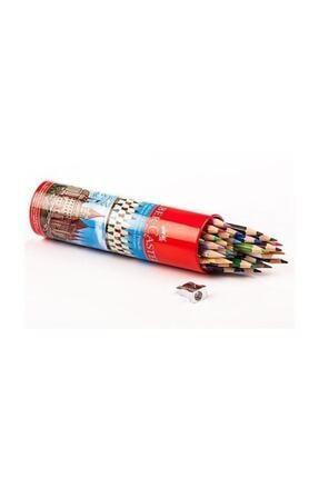 Faber Castell 36 Renk Metal Tüp Uzun Kuru Boya (5173115060)
