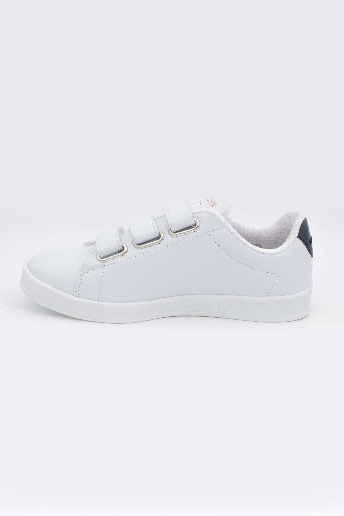 U.S POLO Beyaz Unisex Spor Ayakkabı-20yuspsıngr003 2