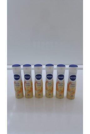 Nivea Nıvea Sprey Fresh Orange 150 Ml 6 Lı Paket