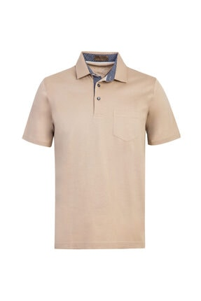 Kiğılı Polo Yaka Regular Fit Merserize Tişört