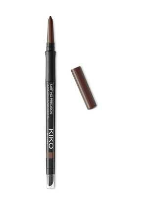 KIKO Eyeliner - Lasting Precision Automatic Eyeliner & Kajal 12 Wood 0.35 gr 8025272616379
