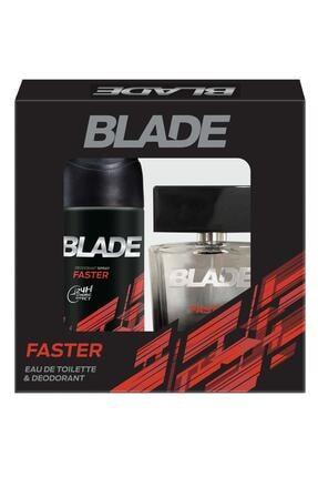 Blade Faster Edt Erkek Parfüm Seti 100 ml