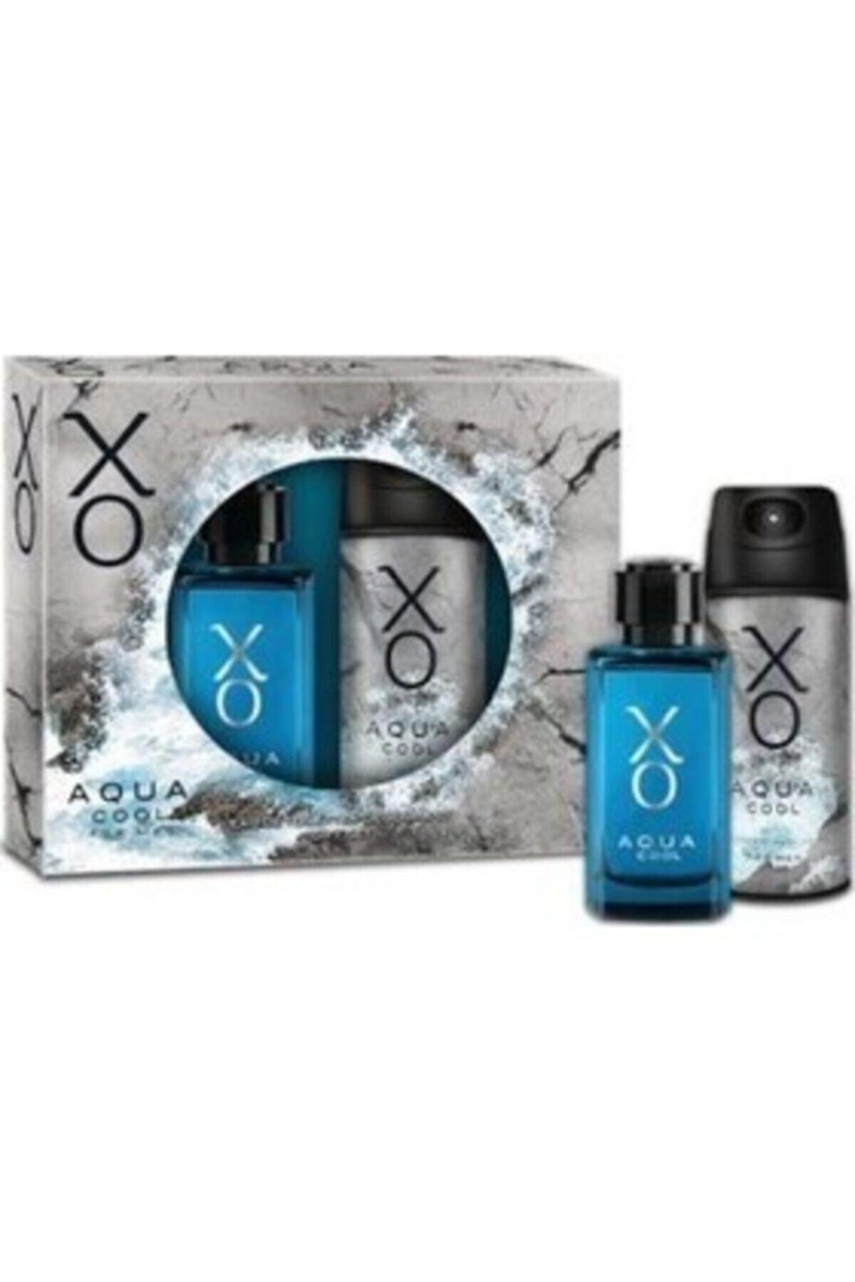 Xo Orıjınal Aqua Cool Erkek Parfüm Seti 100 Ml Edt + 125 Ml Deodorant Ikili Set 1