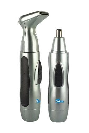 İŞTEBUKACMAZ Şarjlı Tıraş Makinesi Burun Ve Kulak Kılı Temizleme Ense Favori Düzeltme Tüy Alma Iki Başlıklı 1222