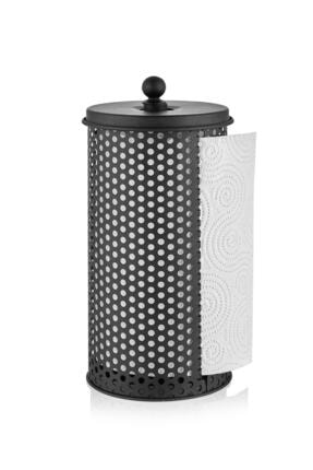 The Mia Havlu Peçetelik 30x14 cm - Siyah