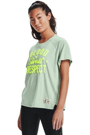 Under Armour Kadın Spor T-Shirt - UA Prjct Rock BSR SS - 1361061-340