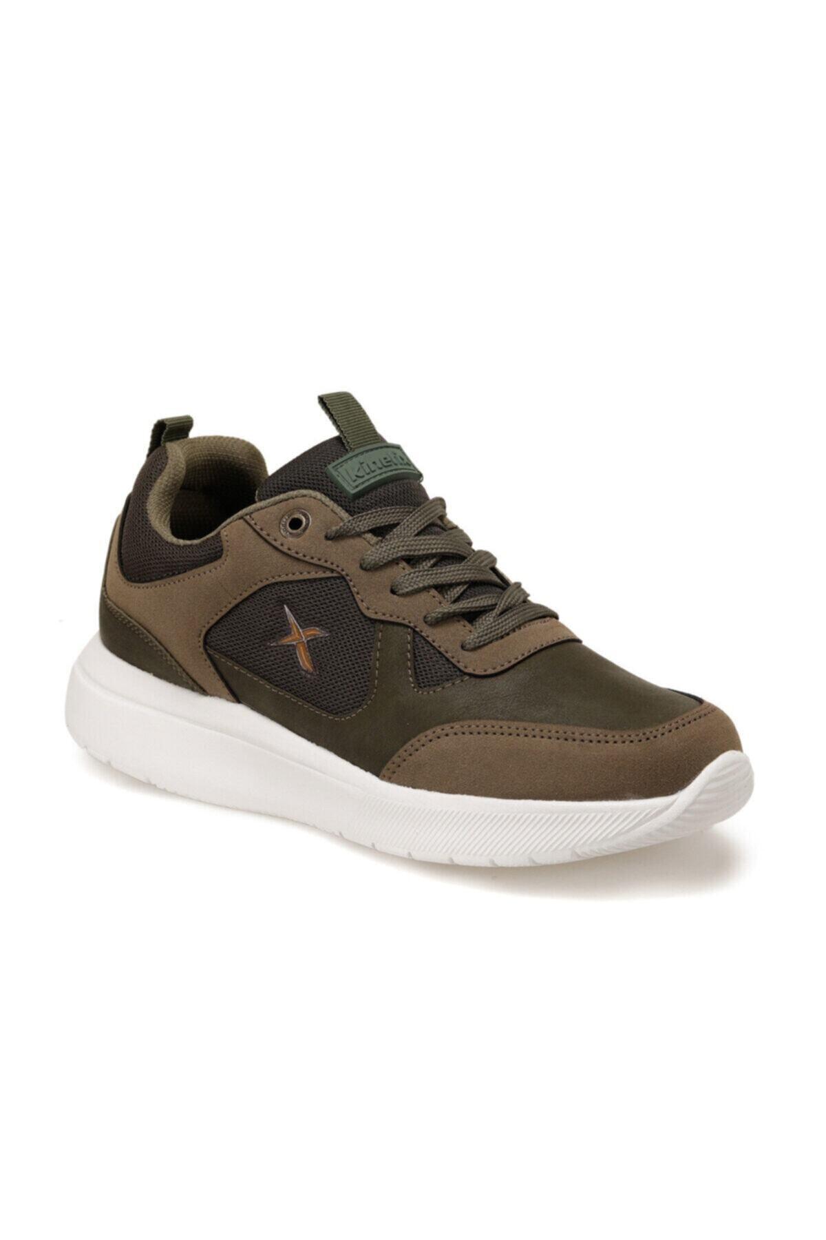 Kinetix MUNDU Haki Erkek Kalın Taban Sneaker Spor Ayakkabı 100552229 1